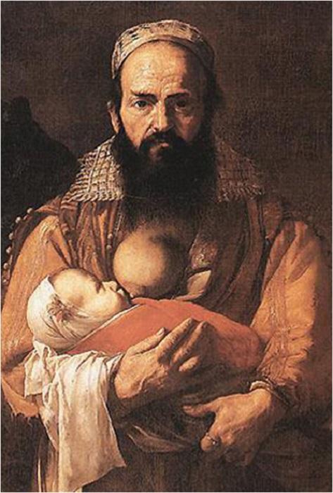 «Портрет бородатой женщины». Фрагмент. | Фото: wtfarthistory.com.