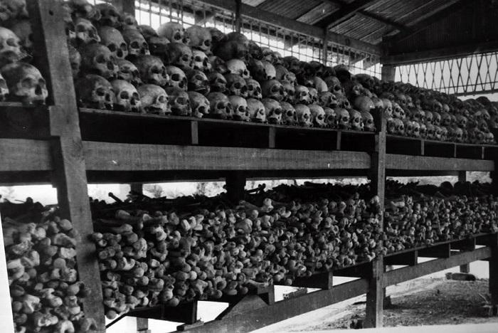 Останки людей, погибших от геноцида красных кхмеров. | Фото: 2.bp.blogspot.com.