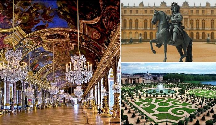 Версаль - резиденция французских королей.