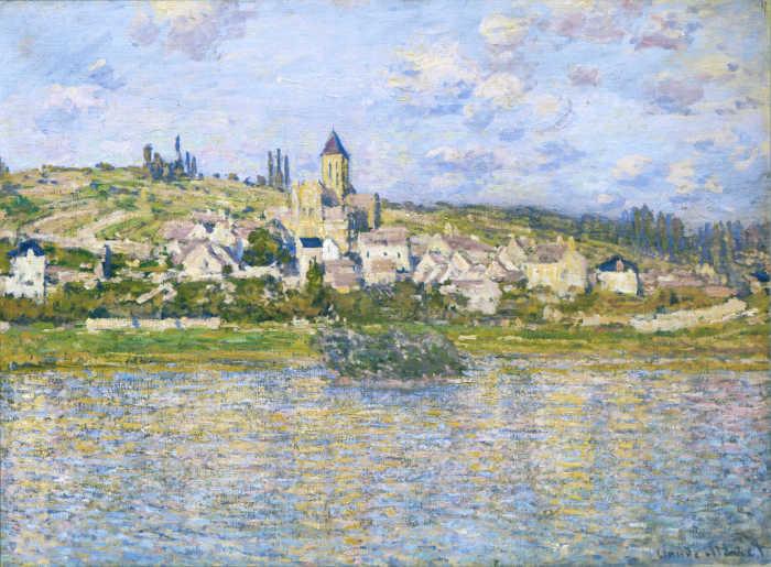 Ветей. К. Моне, 1879 год. | Фото: uploads0.wikiart.org.