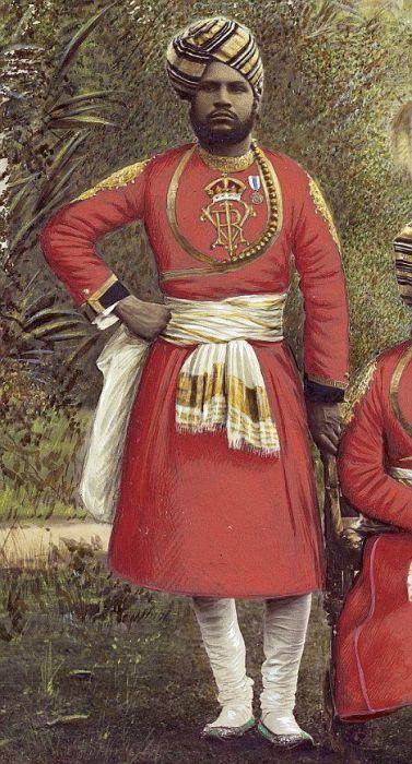 Абдул Карим – слуга и помощник королевы Великобритании. | Фото: pinterest.com.