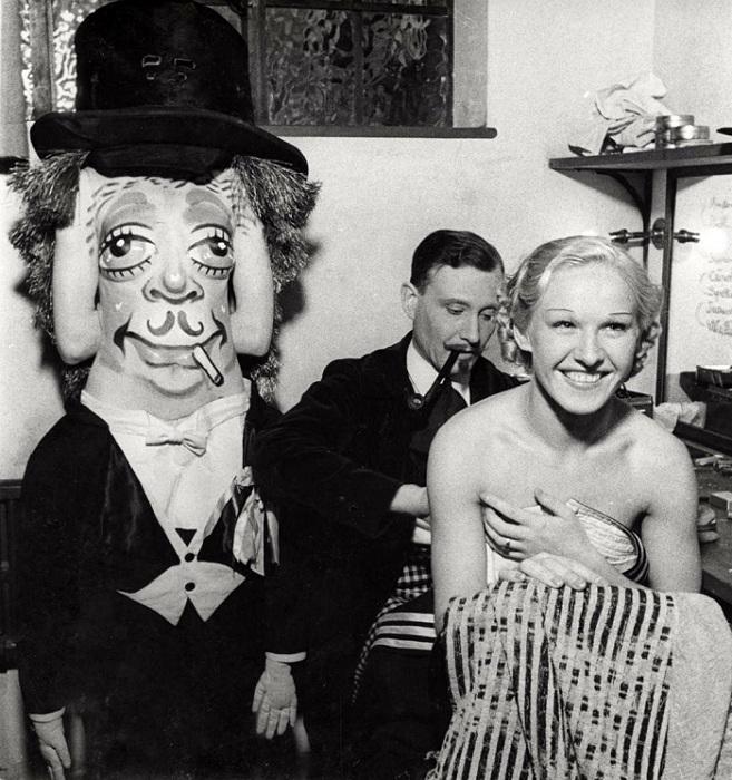 В 1930-х гг художники с радостью развлекали публику.