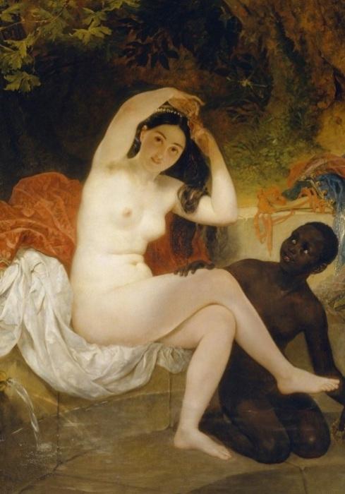 Вирсавия. К. Брюллов, 1832 год.   Фото: artpoisk.info.