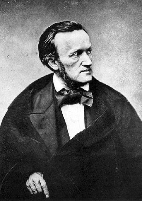 Портрет немецкого композитора Рихарда Вагнера. | Фото: huffingtonpost.com.