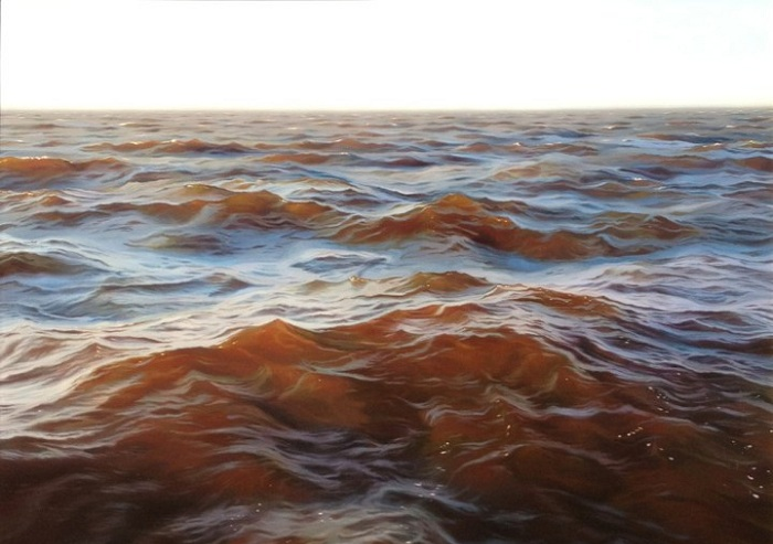 Open Water. Картина американского художника Matthew Cornell.