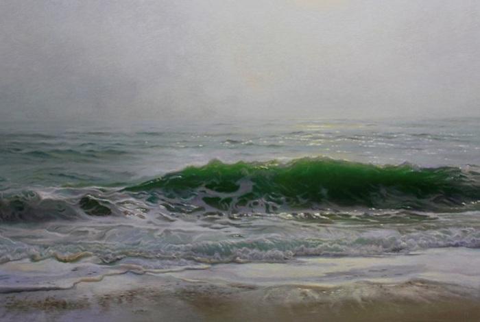 Гиперреалистичная картина американского художника Matthew Cornell.