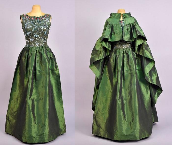 Платье от Balenciaga. 1960-е годы.
