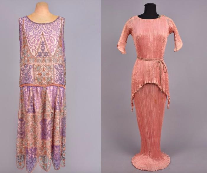 Платья от Мариано Фортуни. 1920-е годы.