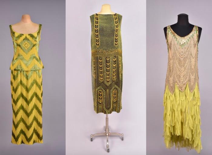 Платья, расшитые бисером. 1920-е годы.