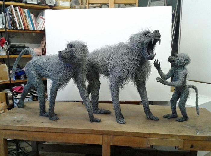 Творчество скульптора Kendra Haste.