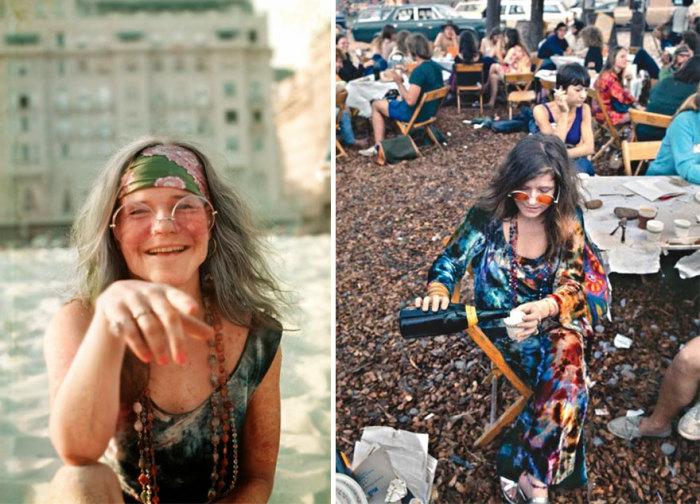 Колоритные персонажи с рок-фестиваля 1969 года.