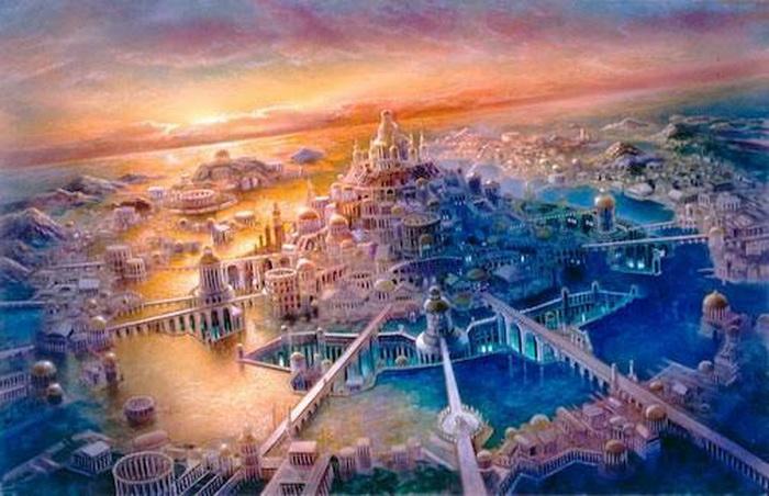 Легендарные затерянные города и земли.