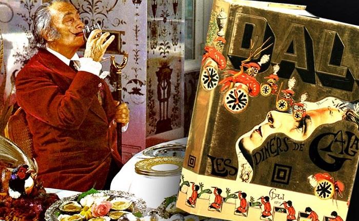 Les Diners de Gala - поваренная книга Сальвадора Дали.