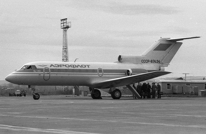Самолет «Як-40». | Фото: avsimrus.com