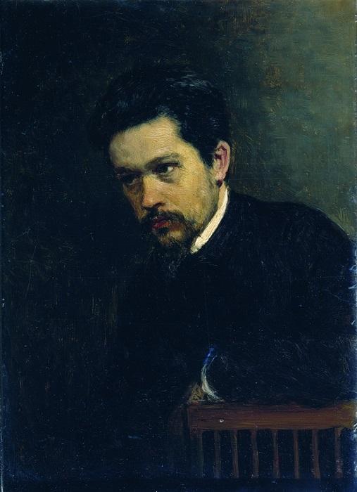 Автопортрет. Н. Ярошенко, 1895 год. | Фото: liveinternet.ru.
