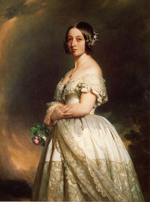 Юная британская королева Виктория. | Фото: artchive.ru.