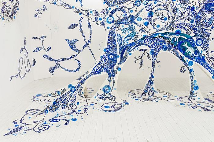 Арт-проект от художницы Yusuke Asai.