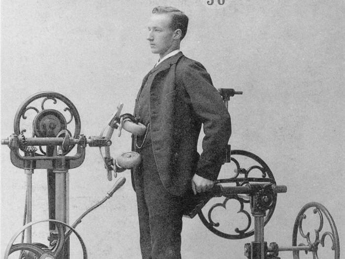 Фитнес XIX века. | Фото: fizyoo.com.