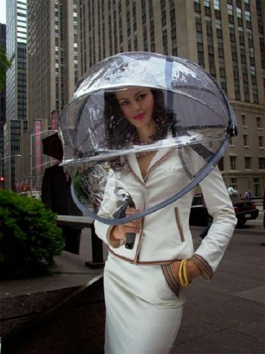 Современный зонт. | Фото: storyfiles.blogspot.com.