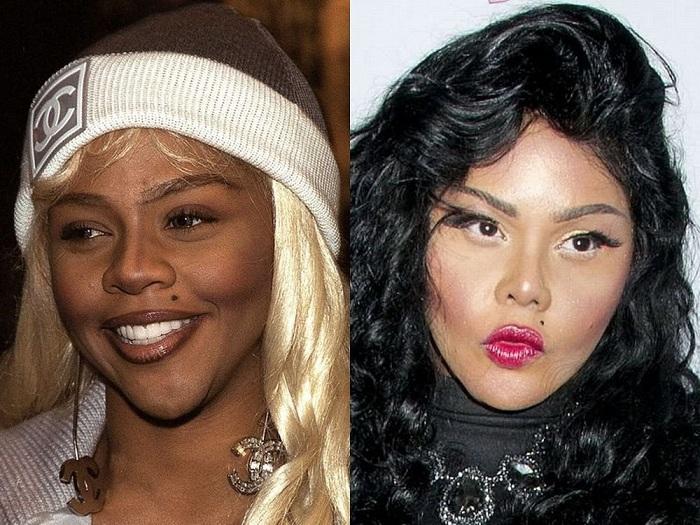 Американская хип-хоп певица Lil' Kim.