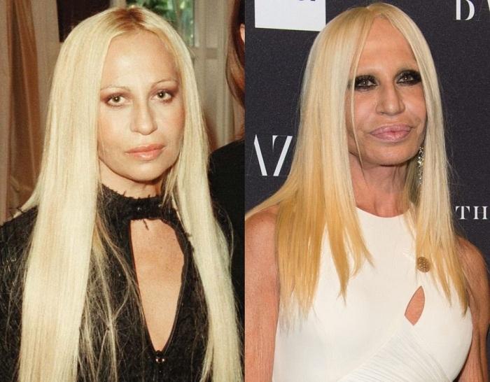 Законодательница мод дизайнер Donatella Versace.