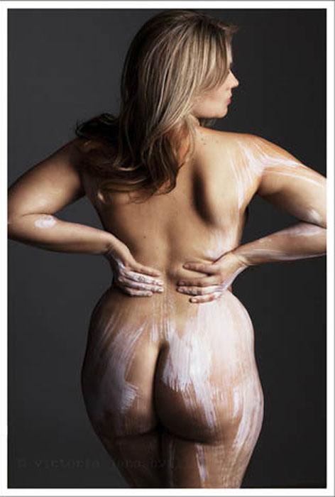 Фотопроект о красоте женского тела.