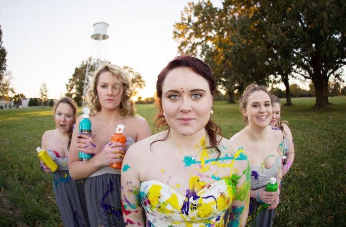 Фотосессия в день, когда должна была состояться свадьба.