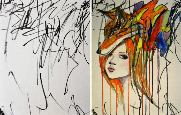 Рисунки художника Ruth Oosterman.