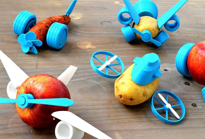 Как превратить овощи в яркие игрушки.