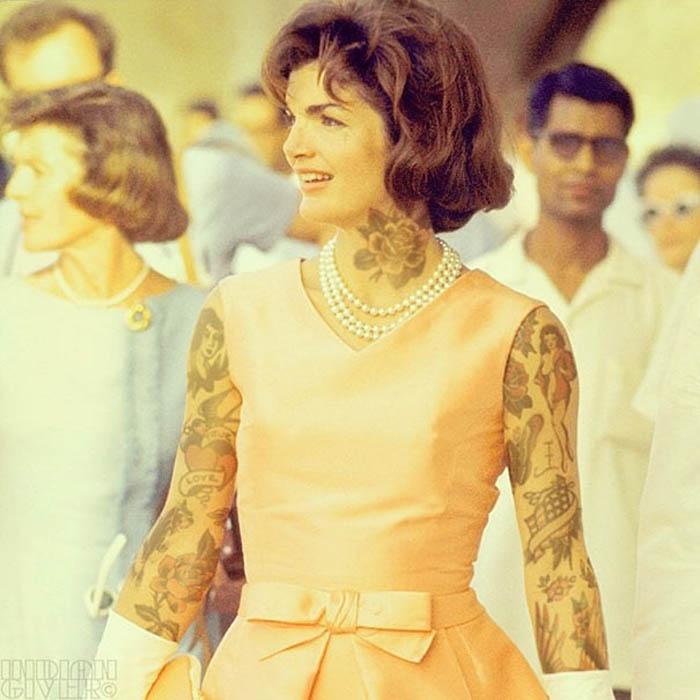 Жаклин Кеннеди.