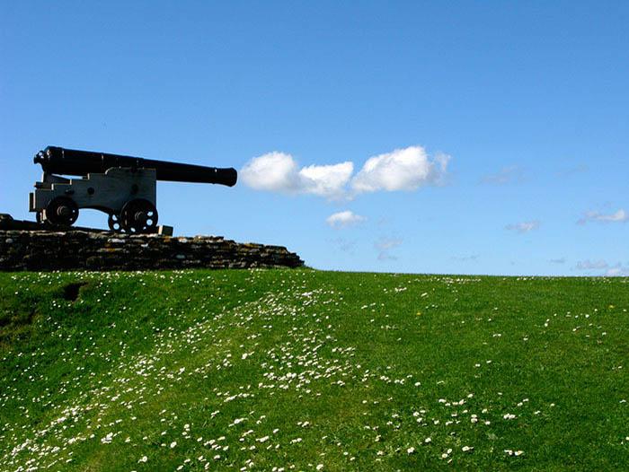 Облако и пушка от Giulia Piu.