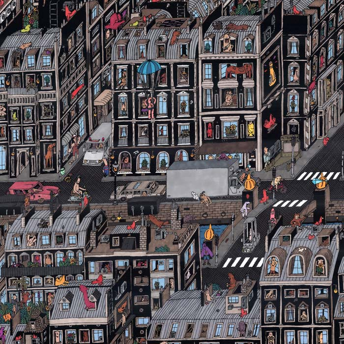 Рисунки, сделанные автором, влюбленным в города и архитектуру.