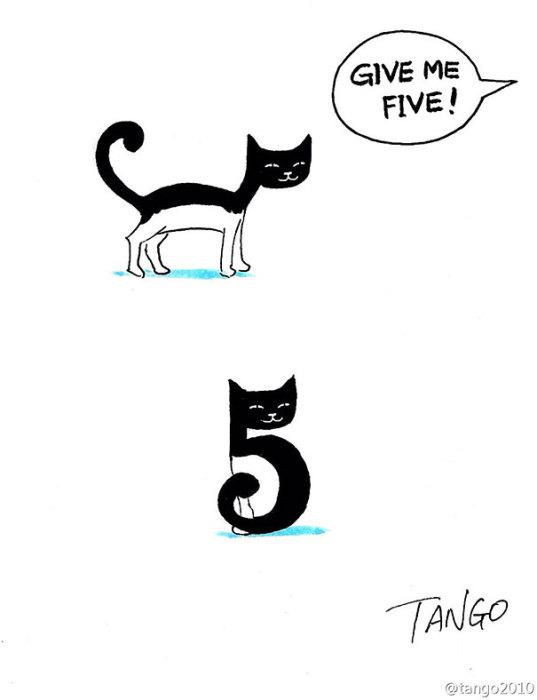 Иллюстрации из жизни животных.