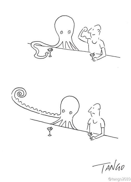 Комиксы из жизни животных.