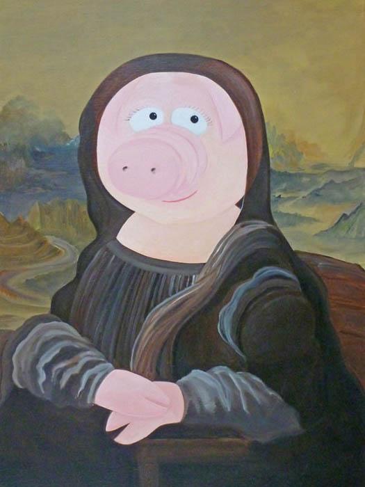 Леонардо да Винчи, Мона Лиза.