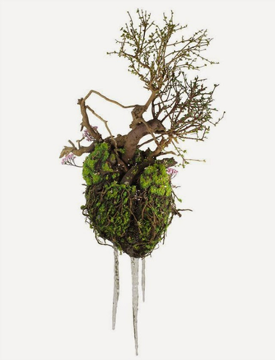 Зеленые скульптуры от Emeric Chantier.
