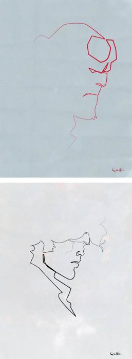 Необычные рисунки от Cristophe Louis.