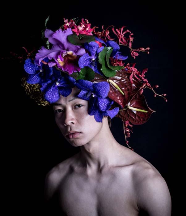 Мужские шляпы от японского дизайнера.