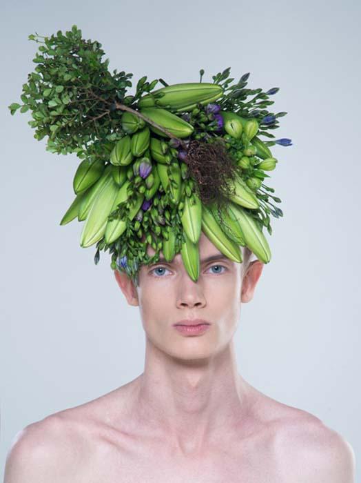 Экстраординарные шляпы от японского дизайнера.