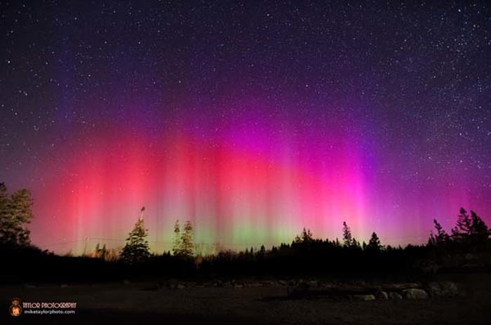 Фото звездного неба от Mike Taylor.