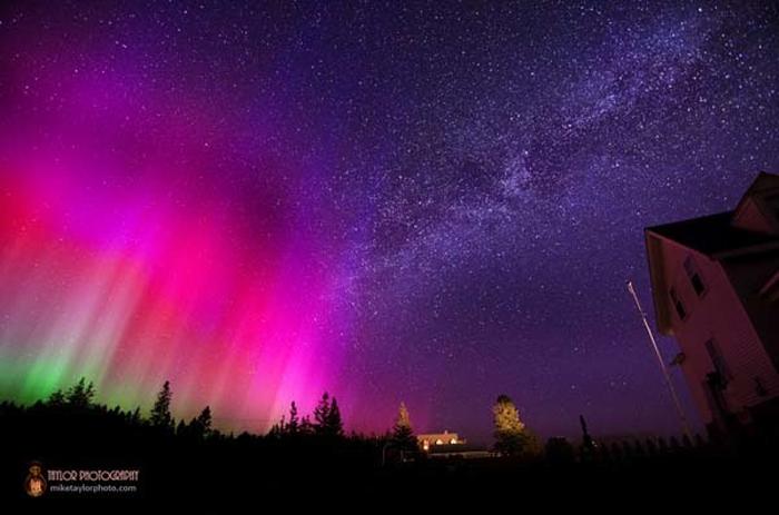 Потрясающие фото звездного неба от Mike Taylor.