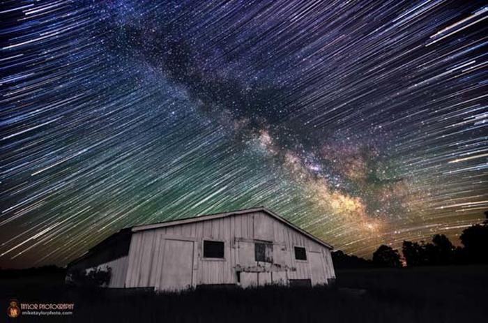 Фото звездного неба.