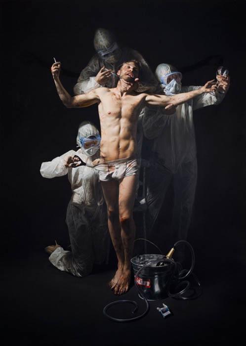 Гиперреалистичные картины Mitch Griffiths.