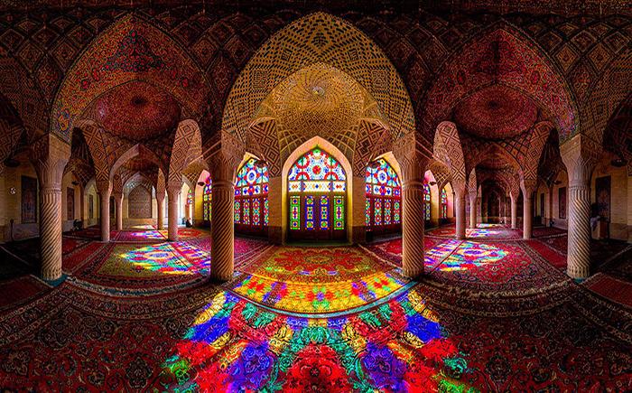 Уникальные фото исламских мечетей.