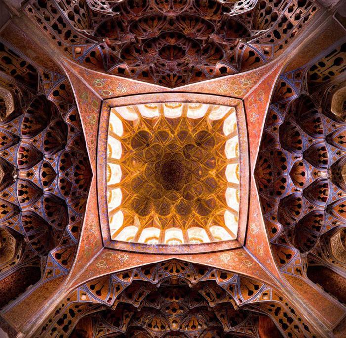 Фантастические фото мечетей от Mohammadа Reza Domiri Ganji.