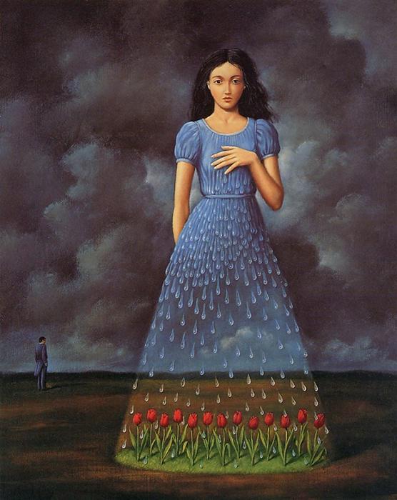 Сюрреалистичные полотна от Rafal Olbinski.