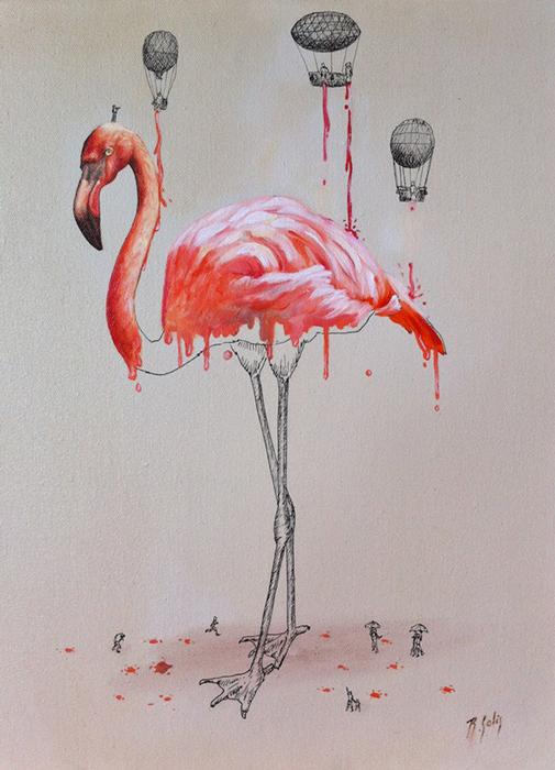 Иллюстрации, объясняющие откуда берется окрас шкуры животных.