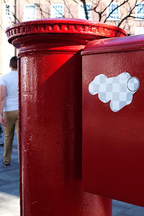 Яркий стрит-арт Street Eraser.