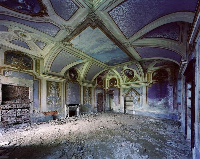 Заброшенные итальянские палаццо.