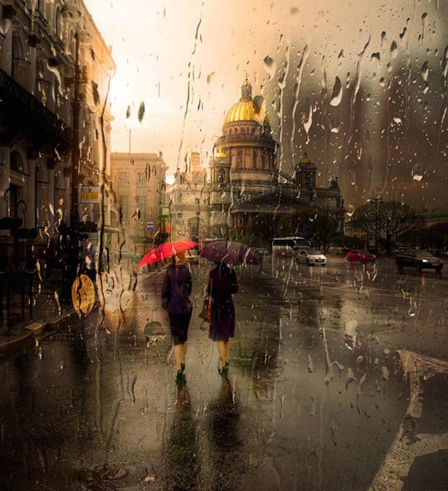 Романтичные фотографии Санкт-Петербурга.